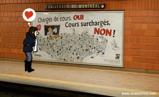 Metro montreal Fneeq